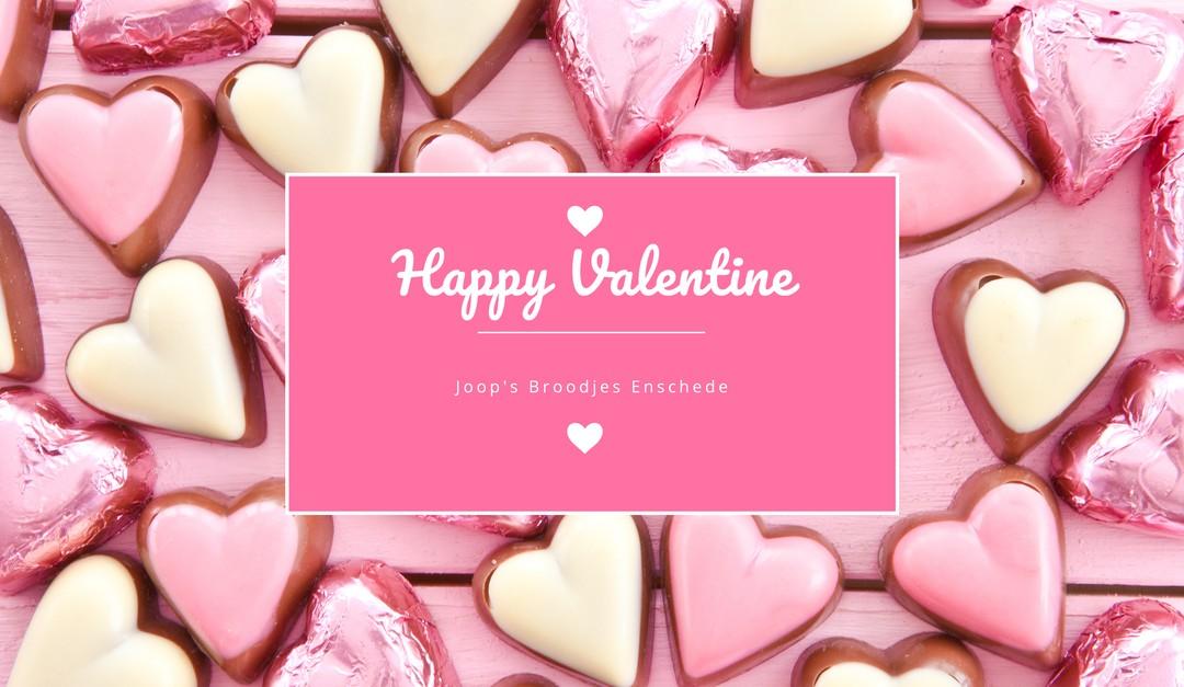 Valentijnsdag bij Joop's Broodjes